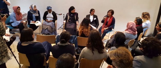 Plenary discussion with workshop facilitators and Amina Wadud